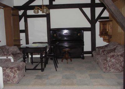 Wohnzimmer in der Ferienwohnung 2