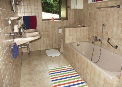 Bad in der Ferienwohnung 2