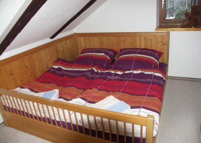 Betten in der Ferienwohnung 2