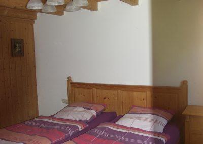 Doppelbettzimmer in der alten Scheune